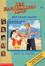 Baby-sitters Club 8 Boy-Crazy Stacey reprint cover