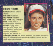 Kristy profile from Sea City poster