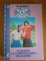 Claudia y la empollona de Janine