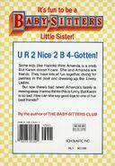 Baby-sitters Little Sister 19 Karens Good-bye back cover