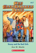 BSC 87 Stacey and the Bad Girls ebook cover