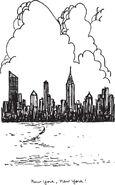 New York City skyline SS6