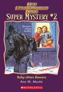 Super Mystery 2 Baby-sitters Beware ebook cover