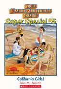 Super Special 05 California Girls ebook cover