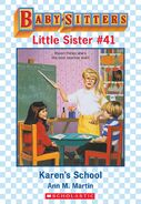 Baby-sitters Little Sister 41 Karens School ebook cover