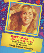 Stacey 1991 portrait and bio from Remco doll box