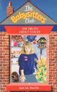 Baby-sitters Club 3 The Truth about Stacey UK cover