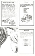 Baby-sitters Little Sister 42 Karens Pizza Party trading cards back