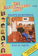 Baby-sitters Club 119 Staceys Ex Boyfriend cover