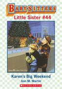 Baby-sitters Little Sister 44 Karens Big Weekend ebook cover