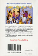 Baby-sitters Club Super Special 4 Island Adventure back cover