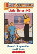 Baby-sitters Little Sister 49 Karens Stepmother ebook cover