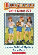 Baby-sitters Little Sister 74 Karens Softball Mystery ebook cover