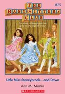 BSC 15 Little Miss Stoneybrook and Dawn ebook cover