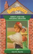 Baby-sitters Club 20 Kristy and the Walking Disaster UK cover