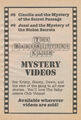 Mystery videos 8 9 bookad from SS9 1stpr 1992