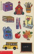 Colmans Class 01 school stickers