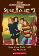 Super Mystery 3 Baby-sitters Fright Night ebook cover