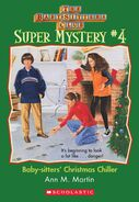 Super Mystery 4 Baby-sitters Christmas Chiller ebook cover