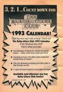 BSC 1993 calendar bookad from 57 orig 1stpr 1992