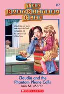 BSC 02 Claudia Phantom Phone Calls ebook cover