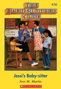 BSC 36 Jessis Baby-sitter ebook cover