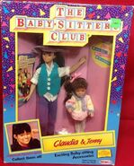 Claudia Jenny Remco dolls box front