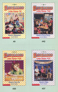 Baby-sitters Little Sister 42 Karens Pizza Party trading cards front