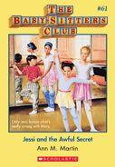 BSC 61 Jessi Awful Secret ebook cover