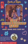 Baby-sitters Club 86 Mary Anne and Camp BSC Book on Tape front