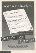 Ducky California Diaries 5 bookad from CAD4