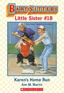 Baby-sitters Little Sister 18 Karens Home Run ebook cover