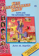 Baby-sitters Club 5 Dawn and the Impossible Three reprint cover