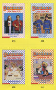Baby-sitters Little Sister 45 Karens Twin trading cards front