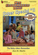 Super Special 11 The Baby-sitters Remember cover yellow 3rdpr