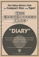 BSC CD cassette tape diary bookad from SS9 1stpr 1992