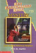 BSC Mystery 35 Abby and the Notorious Neighbor cover