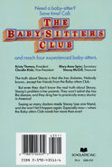 Baby-sitters Club 03 Truth About Stacey original back cover