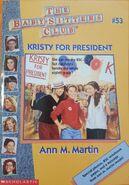 BSC - Kristy for President 1996 reprint cover