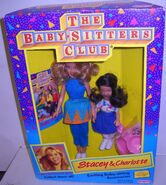 Stacey Charlotte Remco dolls box front blue dress