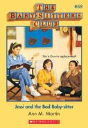 BSC 68 Jessi and Bad Baby-sitter ebook cover