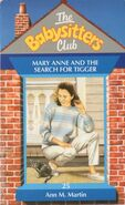 Baby-sitters Club 25 Mary Anne Search for Tigger UK cover