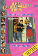 Baby-sitters Club 38 Kristys Mystery Admirer reprint cover