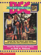 Baby-sitters Club movie novelization hardback cover with charm