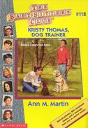Baby-sitters Club 118 Kristy Thomas Dog Trainer cover