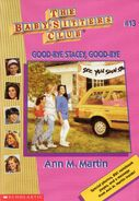 Baby-Sitters Club 13 Good-bye Stacey Good-bye 1996 reprint cover