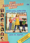 Baby-sitters Club 94 Stacey McGill Super Sitter 1996 cover