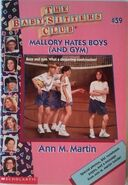 BSC - Mallory Hates Boys (and Gym) 1996 reprint cover