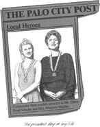 Dawn Palo City newspaper community hero