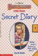 Baby-sitters Little Sister Secret Diary front cover